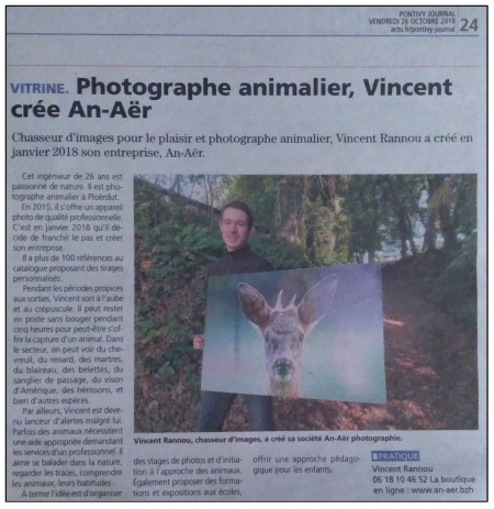 Pontivy Journal - Octobre 2018